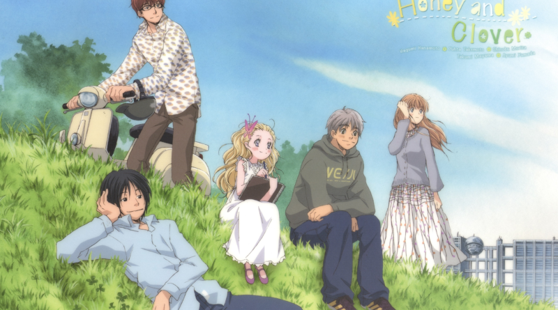 Honey and Clover - I personaggi
