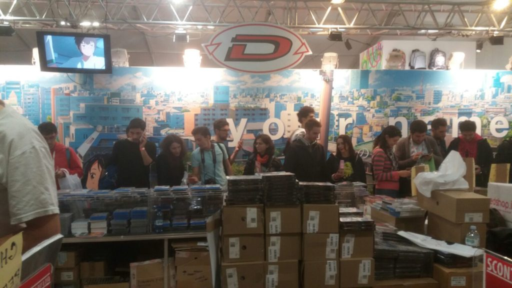 Lucca Comics 2017 - Lo stand Dynit
