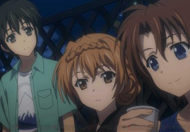 Golden Time - Banri, Kouko e Linda