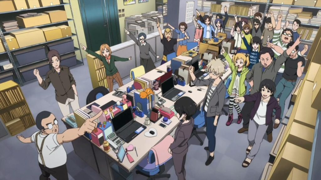 Shirobako - Lo staff della Musashino Animation