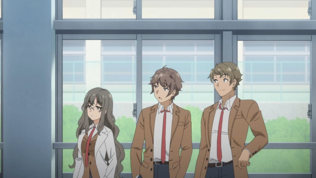 Rascal Does Not Dream of Bunny Girl Senpai - Sakuta tra Futaba e Kunimi